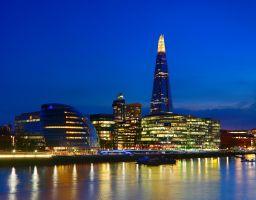 London night sightseeing