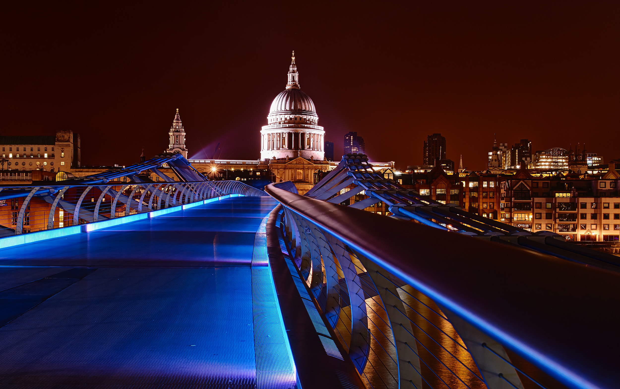 Millenium Bridge in London