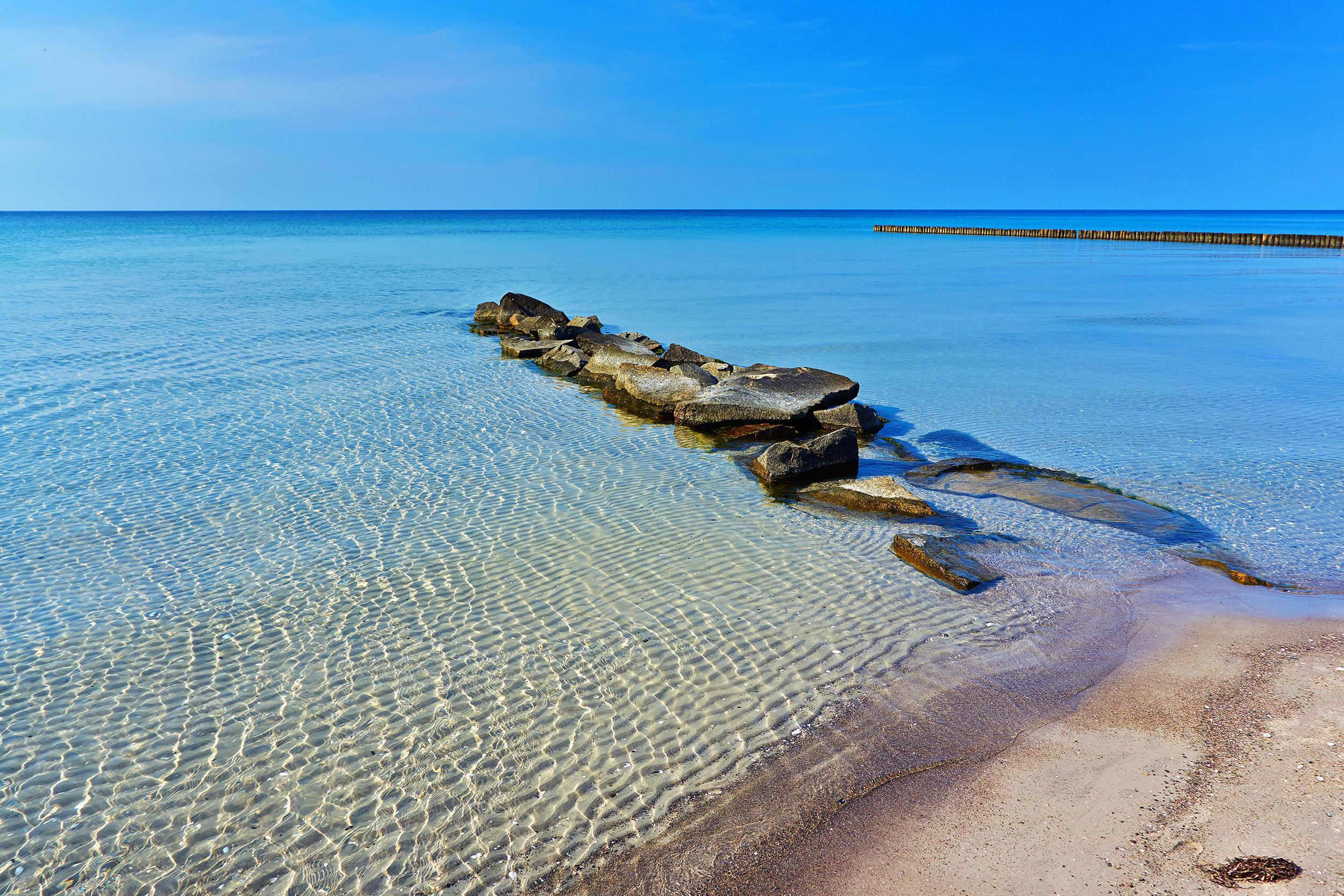 Ostseestrand auf Hiddensee